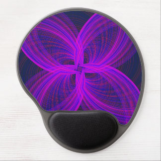 Purple Spiral Mouse Pad