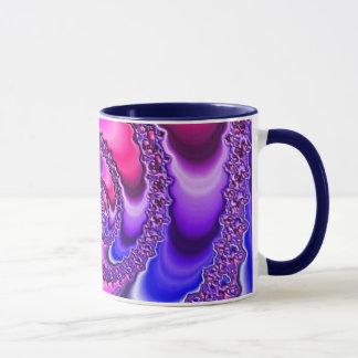 Purple Spiral Mug