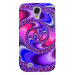 Purple Spiral Samsung Galaxy S4 Cover