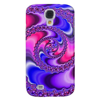 Purple Spiral Samsung S4 Case
