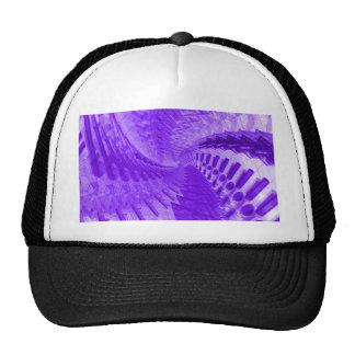 Purple Spiral Trucker Hat