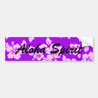 Purple Spirit Bumper Sticker