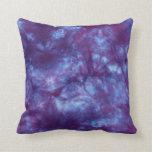 Purple Spirit Tie Dye MoJo Pillow