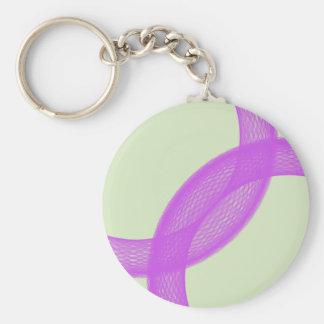 purple spiritual fulfillment keychain