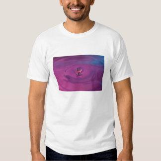 Purple Splash Adult Tee Shirt