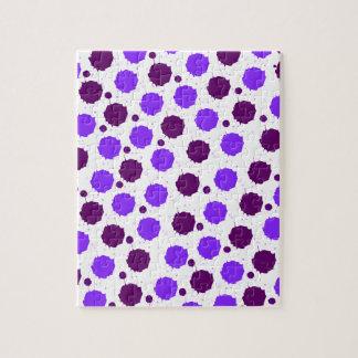 Purple Splash Dots Puzzles