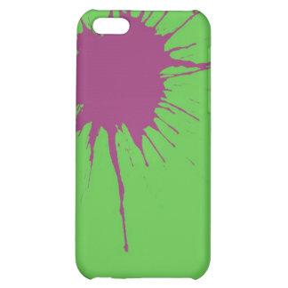 purple splatter case for iPhone 5C
