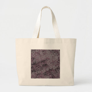 Purple Splotches Large Tote Bag