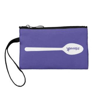 Purple Spoonie Wristlet