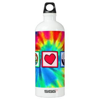 Purple Sport Shooting Aluminum Water Bottle