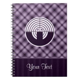 Purple Sport Shooting Note Book