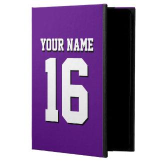 Purple Sports Jersey / Team Jersey Powis iPad Air 2 Case