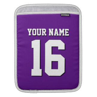 Purple Sports Jersey / Team Jersey Sleeve For iPads