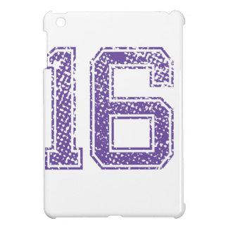 Purple Sports Jerzee Number 16.png iPad Mini Covers