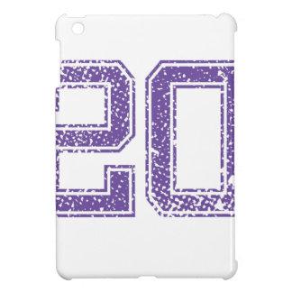 Purple Sports Jerzee Number 20.png iPad Mini Case