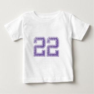 Purple Sports Jerzee Number 22.png Tshirt
