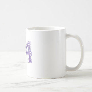 Purple Sports Jerzee Number 24.png Coffee Mug