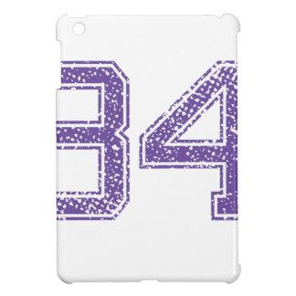 Purple Sports Jerzee Number 34.png iPad Mini Cases