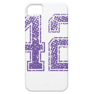 Purple Sports Jerzee Number 42.png iPhone SE/5/5s Case