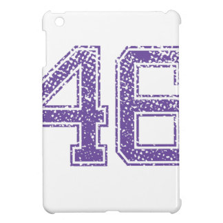 Purple Sports Jerzee Number 46.png Case For The iPad Mini