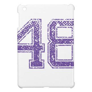 Purple Sports Jerzee Number 48.png iPad Mini Covers