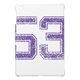 Purple Sports Jerzee Number 53.png iPad Mini Covers