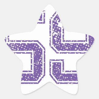Purple Sports Jerzee Number 59.png Star Sticker