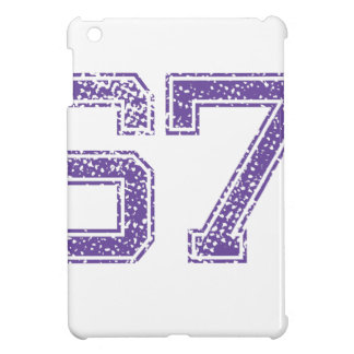 Purple Sports Jerzee Number 67.png Case For The iPad Mini