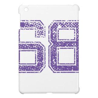 Purple Sports Jerzee Number 68.png iPad Mini Cases