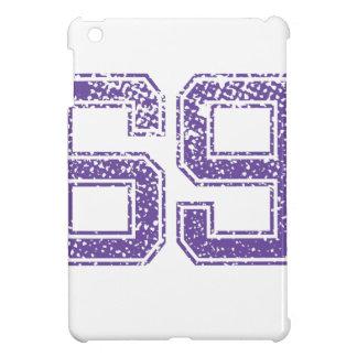 Purple Sports Jerzee Number 69.png iPad Mini Cases