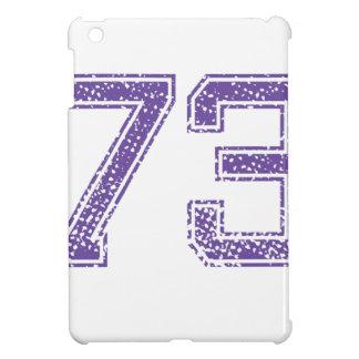 Purple Sports Jerzee Number 73.png iPad Mini Case