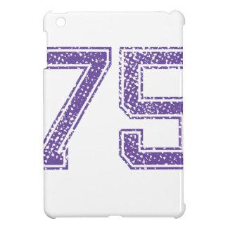 Purple Sports Jerzee Number 75.png iPad Mini Cases
