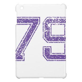 Purple Sports Jerzee Number 79.png iPad Mini Case