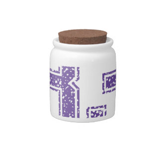 Purple Sports Jerzee Number 83.png Candy Dishes