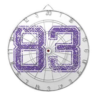 Purple Sports Jerzee Number 83.png Dartboard