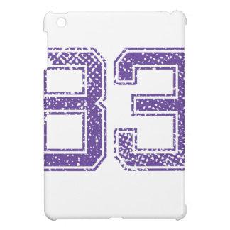 Purple Sports Jerzee Number 83.png iPad Mini Case