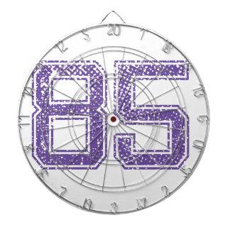 Purple Sports Jerzee Number 85.png Dartboard
