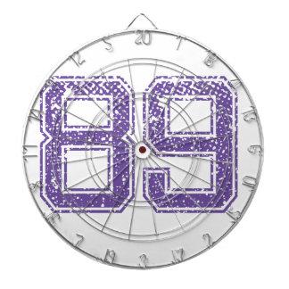 Purple Sports Jerzee Number 89.png Dart Boards