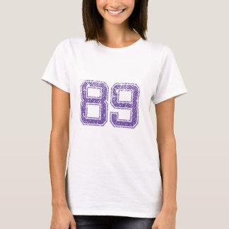 Purple Sports Jerzee Number 89.png T-Shirt