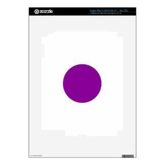 Purple Spot Decals For iPad 3