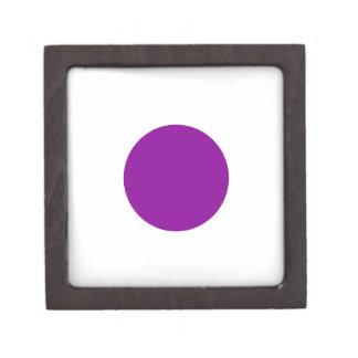 Purple Spot Jewelry Box