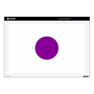 Purple Spot Laptop Decal
