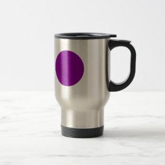 Purple Spot Travel Mug
