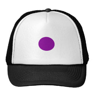 Purple Spot Trucker Hat