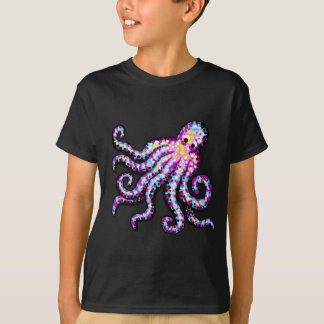 Purple Spotted Octopus T-Shirt