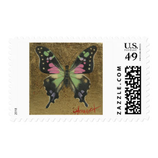 Purple Spotted Swallowtail Postage