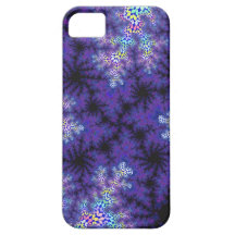 Purple Spraypaint i-Phone 5 Case iPhone 5 Cover