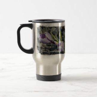 Purple Spring; Customizable Travel Mug