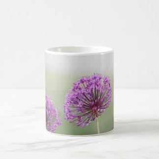 Purple spring flowers photo coffee mug