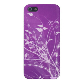 Purple Spring iPhone SE/5/5s Cover